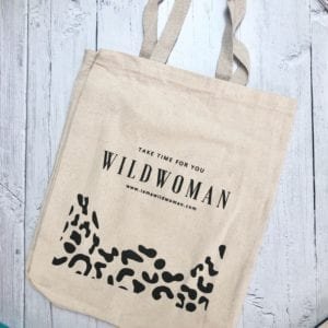 WILDWOMAN Book Bag