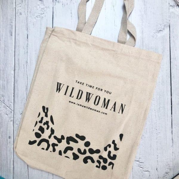 WILDWOMAN Book Bag