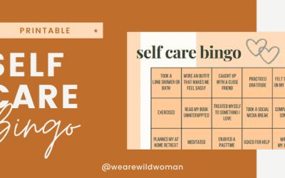Self care Bingo 01