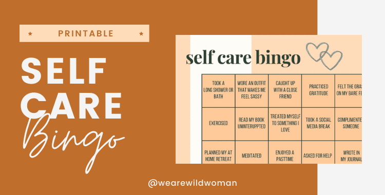Self care Bingo 01
